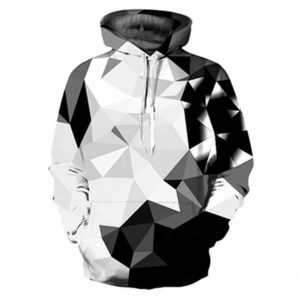 Abstract Diamonds Hoodie