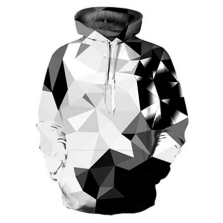 Abstract Diamonds Hoodie Front Men Front Rave Edm Outfits Clothing Festival Wear