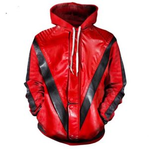Michael Jackson Thriller Hoodie Front Men Rave Edm Outfits Clothing Festival Wear