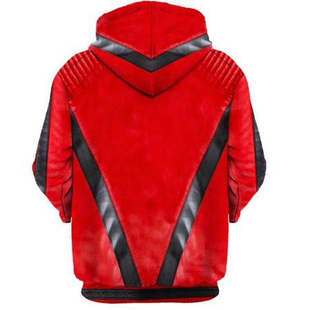 Michael Jackson Thriller Back Hoodie Men Rave Edm Outfits Clothing Festival Wear