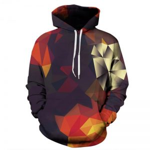 Abstract Autumn Hoodie product gallery
