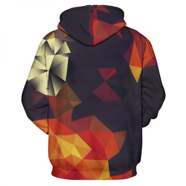 Abstract Autumn Hoodie product gallery+featured