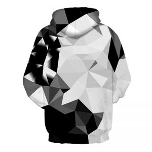 Abstract Diamonds Hoodie Back Men Back Rave Edm Outfits Clothing Festival Wear