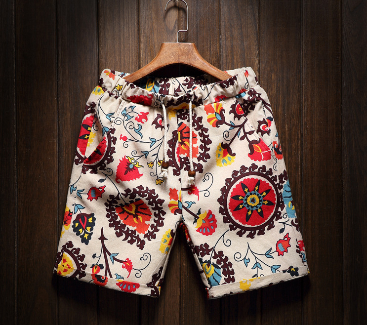 Flower ornaments Shorts product image