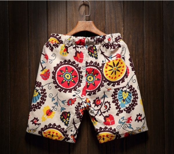 Flower ornaments Shorts product gallery