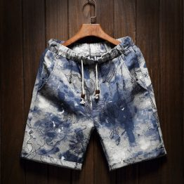 Abstract Blue Shorts product image
