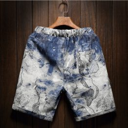 Abstract Blue Shorts product gallery