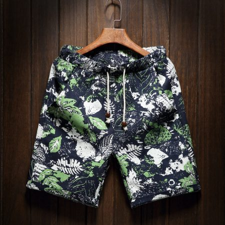 Inked Leaves Shorts product image