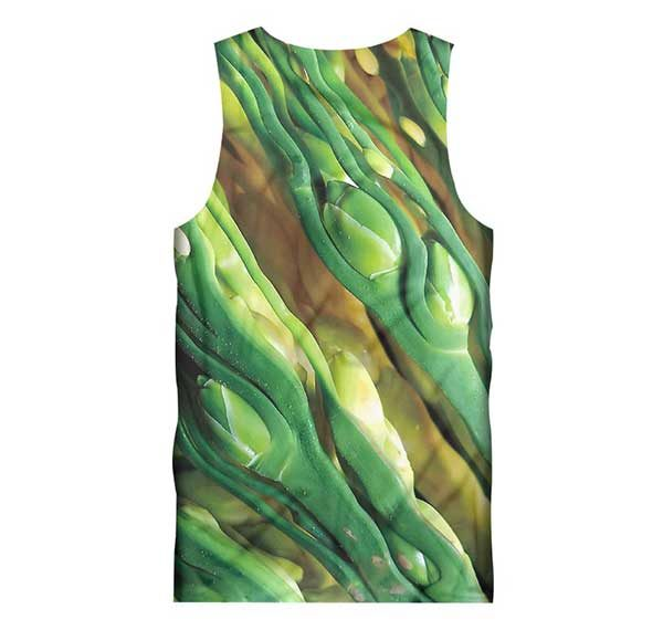 Closed Rose Bud Tank Top Back Men Rave Edm Outfits Clothing Festival Wear