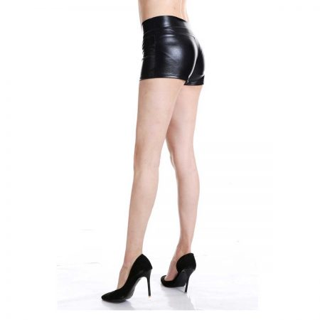 Black Booty Shorts product gallery
