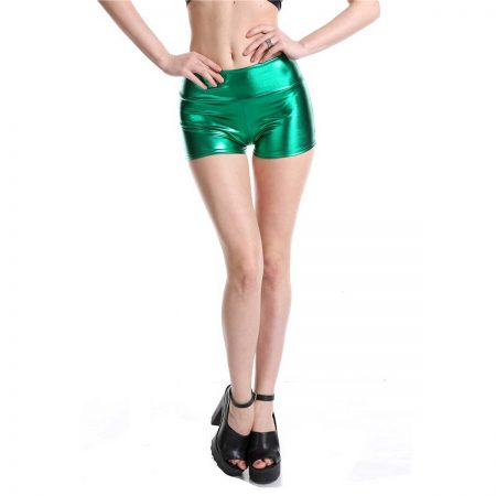 Green Booty Shorts product image