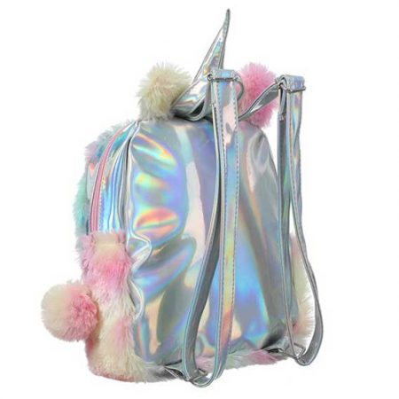 Plush Unicorn Backpack Women Rave Edm Outfits Clothing Festival Wear Back