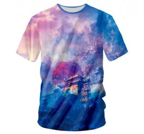Wonderland Temple T-Shirt Men Rave Edm Outfits Clothing Festival Wear