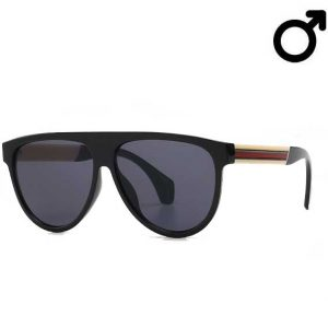 Rvd74 Stripe Sunglasses