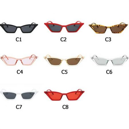 Color Selection Cat Eye Sunglasses