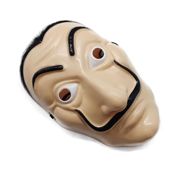 Salvador Dali Plastic Mask Paper House La Casa De Papel Cosplay Decoration Masquerade Halloween Mask