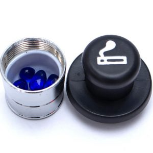 Car Lighter Secret Stash Hide Disguise Safe Hollow Hidden Compartment Container Home Storage Box Pills