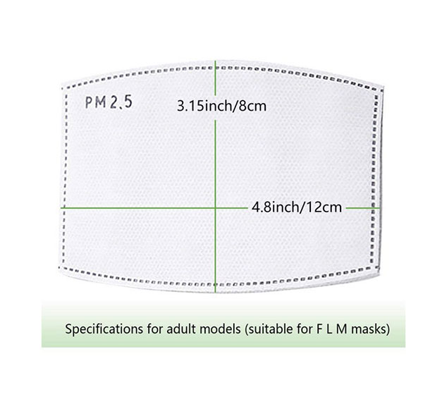 Five-Layer-Protective-Filter-For-Fabric-Mask-2.5-PM-Filter-Size-Info